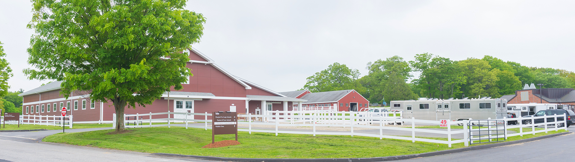 Equine Sports Medicine Complex at Tufts Equine Center